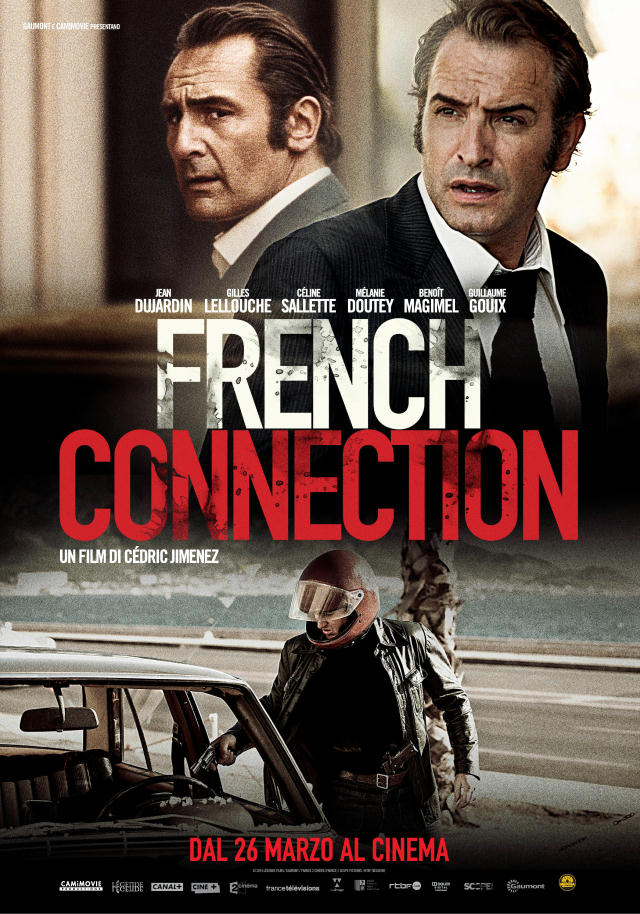 French Connection poster italiano